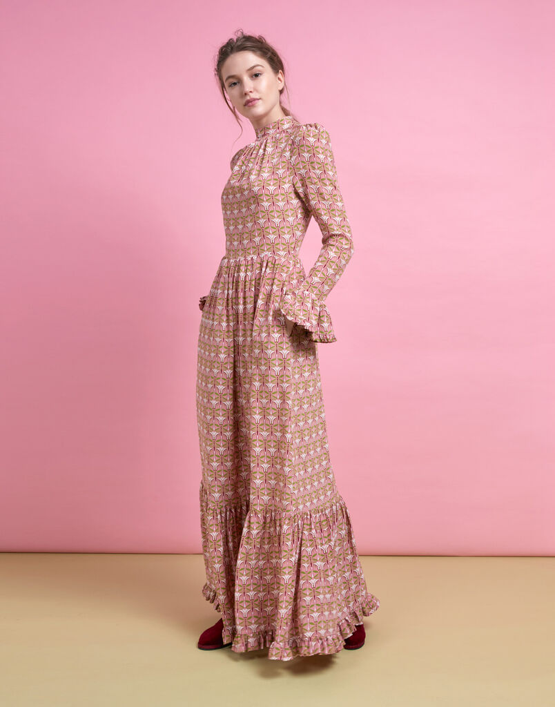 Libellule Rosa Visconti Dress
