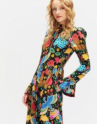Visconti Dress in Colombo Grande