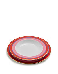Soup And Dinner Plates Set Of 2 1