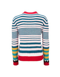 Striped Crew Neck in Rosa Mix 6