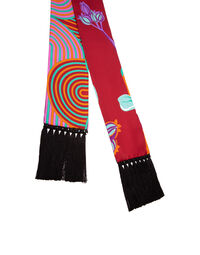 Flapper Tight Double Scarf 2