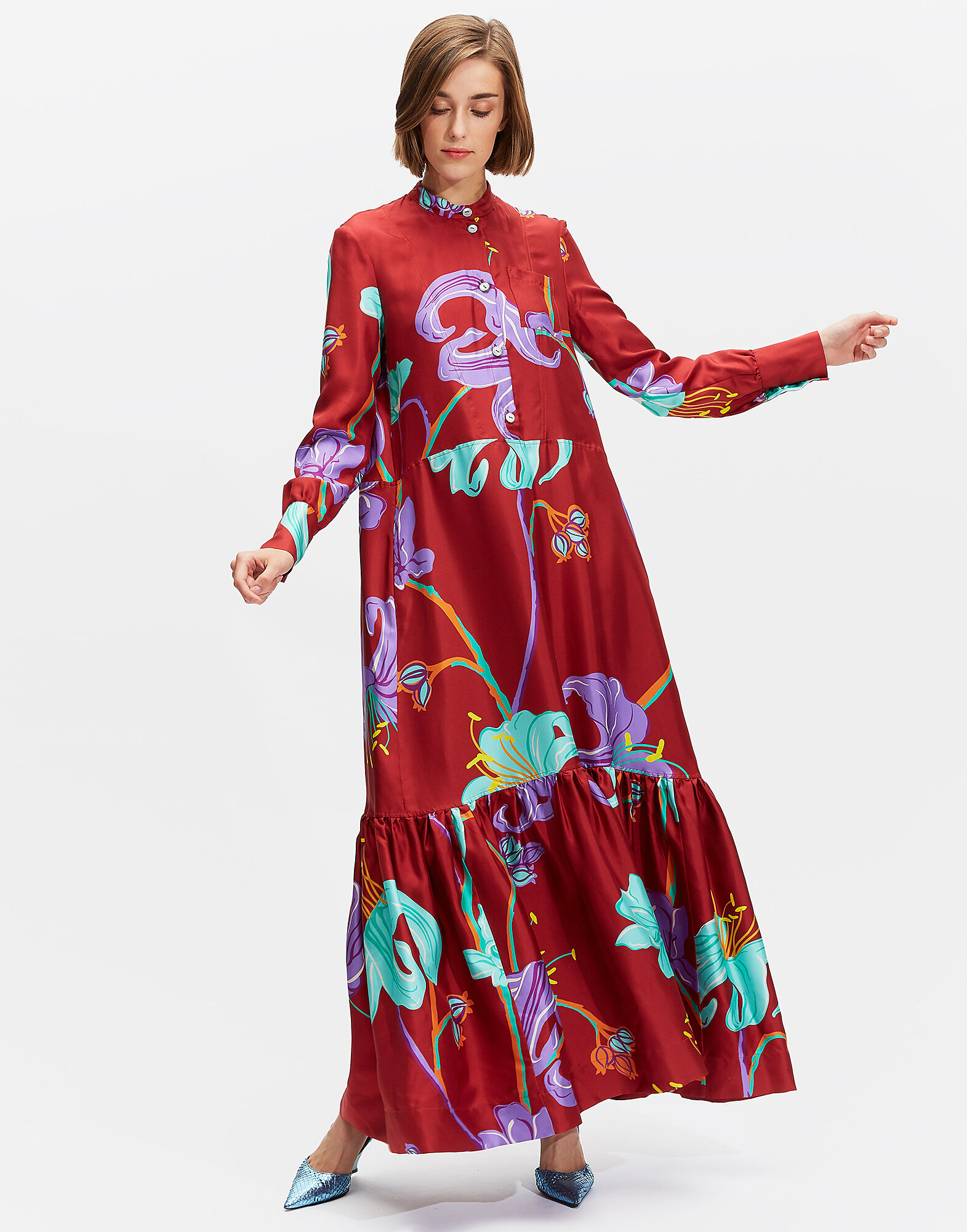 La DoubleJ LDJ Ready to Wear - Dresses | La DoubleJ - Maxi Shirt Dress