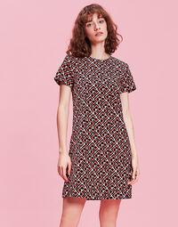 Mini Velvet Swing Dress 1