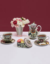 The Big Mama Cup And Saucer Set Of 2 5