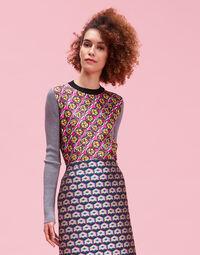 Gemini Sweater - Pic Nic Viola in Silk / Wool