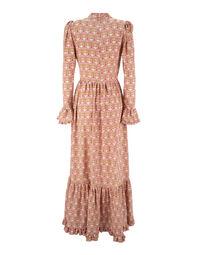 Visconti Dress in Libellule Rosa
