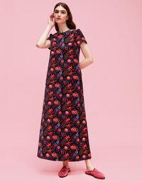 Velvet Swing Dress 1