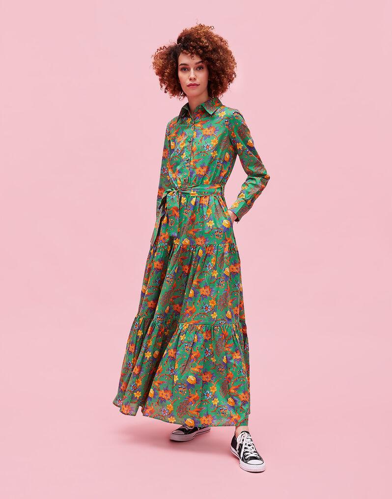Pavone Verde Bellini Dress