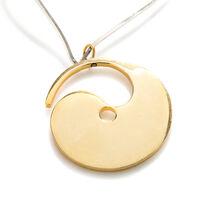 Rigid necklace with pendant, 1970s