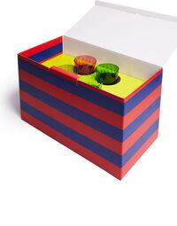 Wine Rainbow Glasses Set Of 4 6