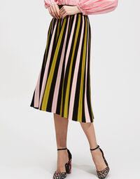 Accordion Knit Skirt 1