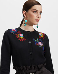 Embroidered Cardigan 2