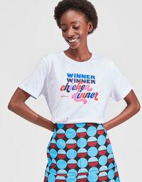 Slogan T-shirt 4