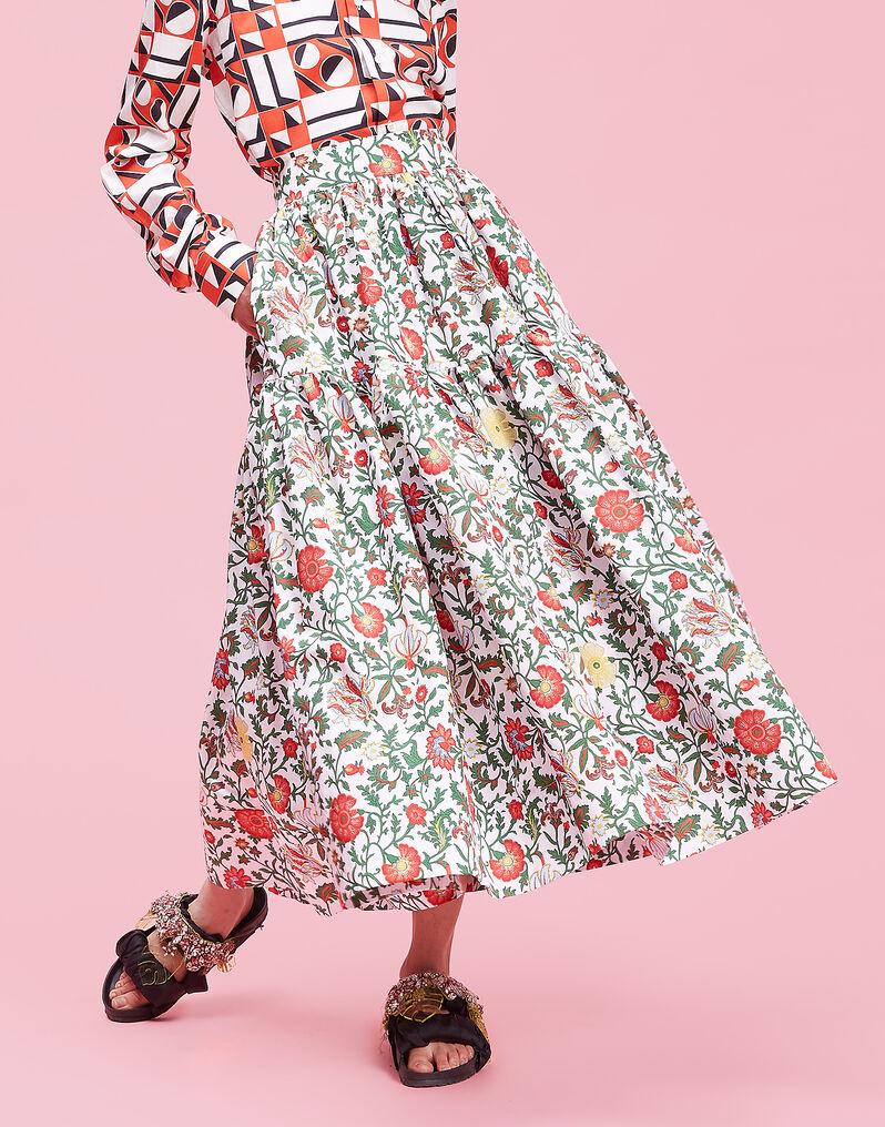 Dragon Flower Oscar Skirt