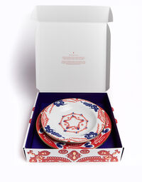 Soup And Dinner Plates Set 7