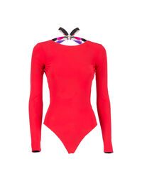 Surf Suit in Poppy
