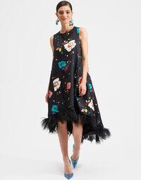 La Scala High Dress (With Feathers) 1