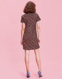 Mini Velvet Swing Dress 2