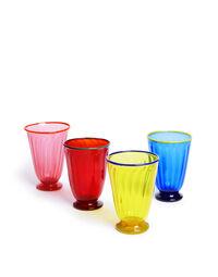Rainbow Glasses set of 4 1