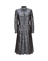 Embroidered Chemisier Dress 1