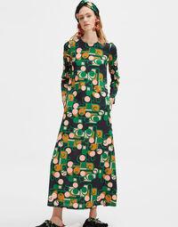 Long Sleeve Swing Dress 1