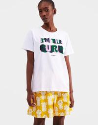 Slogan T-shirt 1