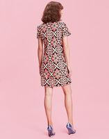 Mini Velvet Swing Dress