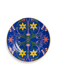 Dinner Plates Set of 2 in Stella Alpina Blue