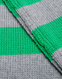 Knitted Skinny Scarf 2