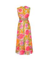 Floral culotte dress, 1970s