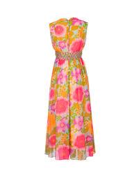 Floral culotte dress, 1970s 2