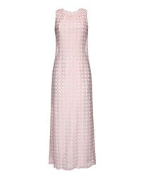 Polyester and lace dress, 1970s