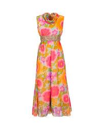 Floral culotte dress, 1970s 1