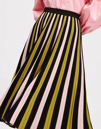 Accordion Knit Skirt 2
