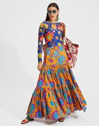 Big Skirt in Dandelion Arancio 5