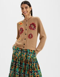 Embroidered Cardigan 1