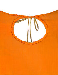 Silk top and skirt set, 1970s