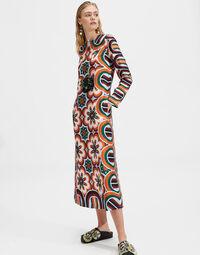 Long Sleeve Swing Dress Placée 1