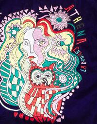 Velvet Embroidered Cushion 5