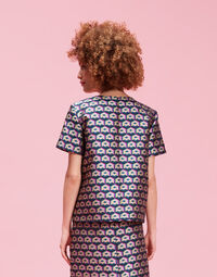 Cubi Verdi The Embroidered Jazzy Tee 2
