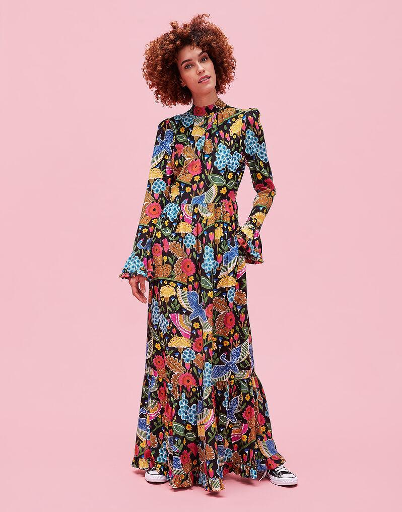 Visconti Dress - Colombo Grande in Crepe de Chine