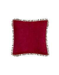 Velvet Embroidered Cushion 2