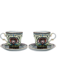The Big Mama Cup And Saucer Set Of 2 7