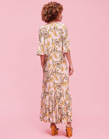 V Curly Swing Dress