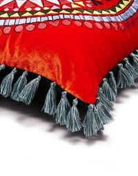 Velvet Embroidered Cushion 3