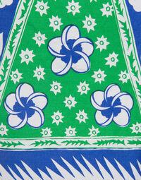 Hand printed top & pant set, 1970s