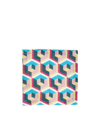Small Napkins Set of 6 in Cubi