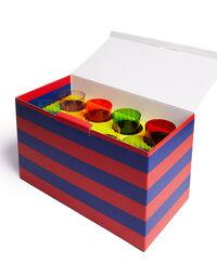 Wine Rainbow Glasses Set Of 8 2