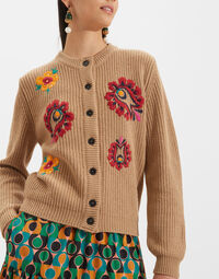 Embroidered Cardigan 3