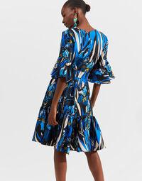 Short Curly Swing Dress 4